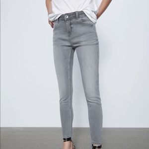 ZARA grey wash jeans